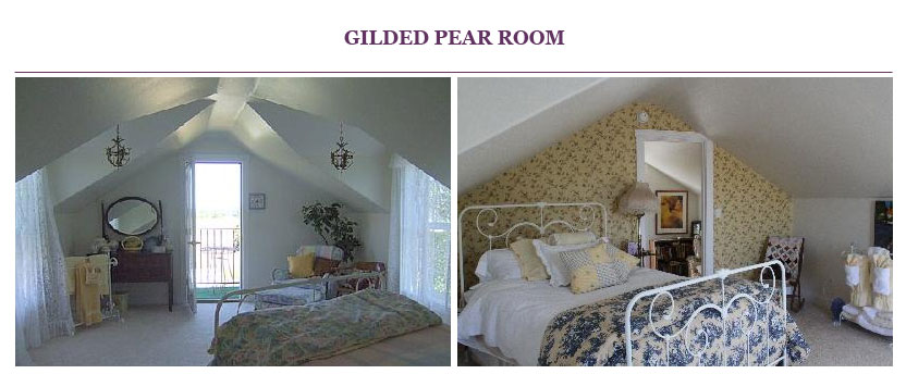 Gilded Pear Room